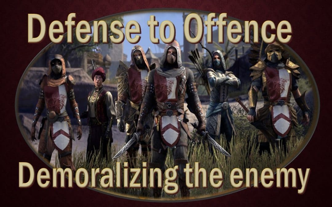 How to decimate enemy morale in Cyrodiil.